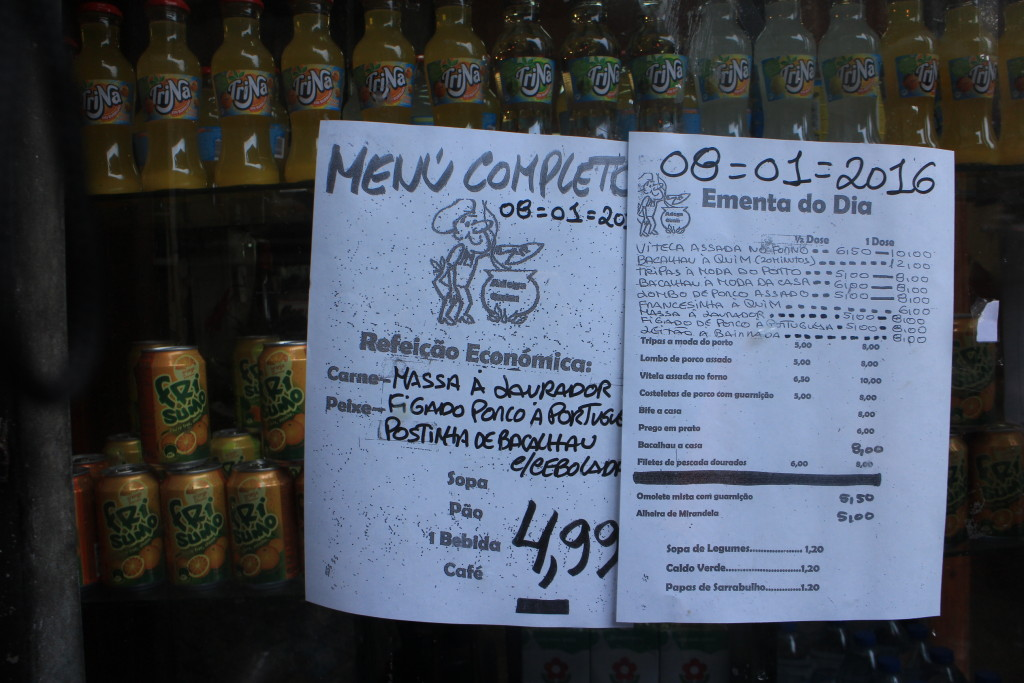 menú at Porto by Su-Ming