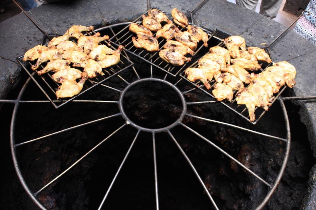 Timanfaya 烤雞
