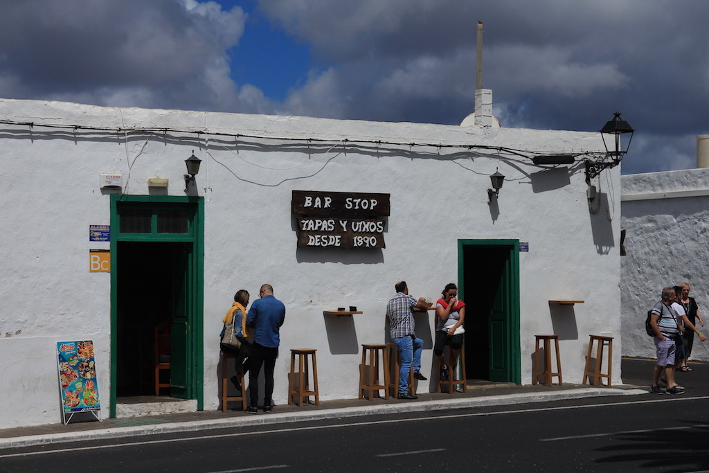 Bar Stop at Yaiza