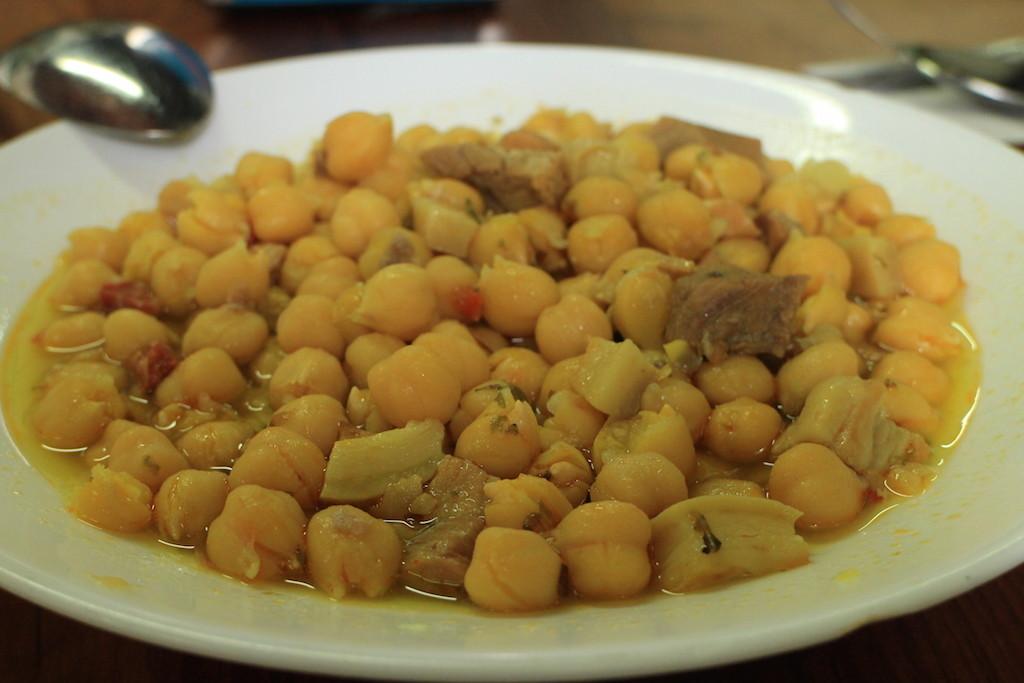 鷹嘴豆,很有爺爺的味道!