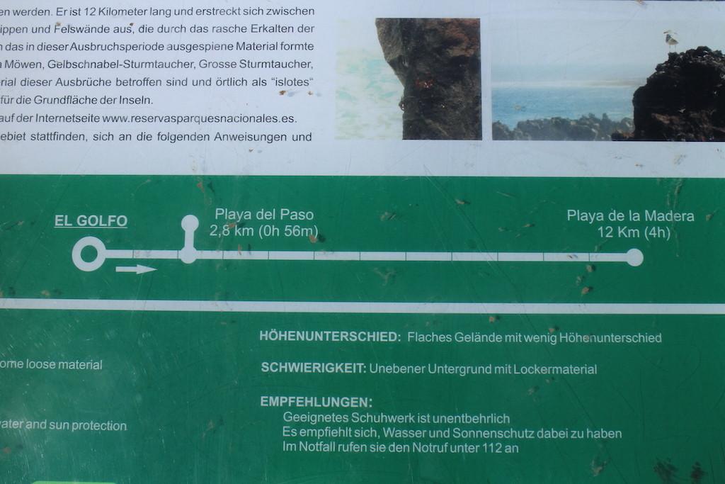 Timanfaya海邊步道
