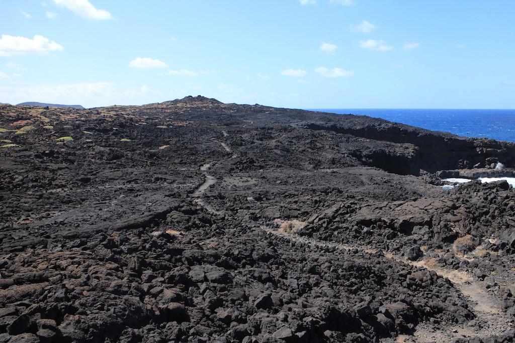 Lanzarote Timanfaya海邊步道