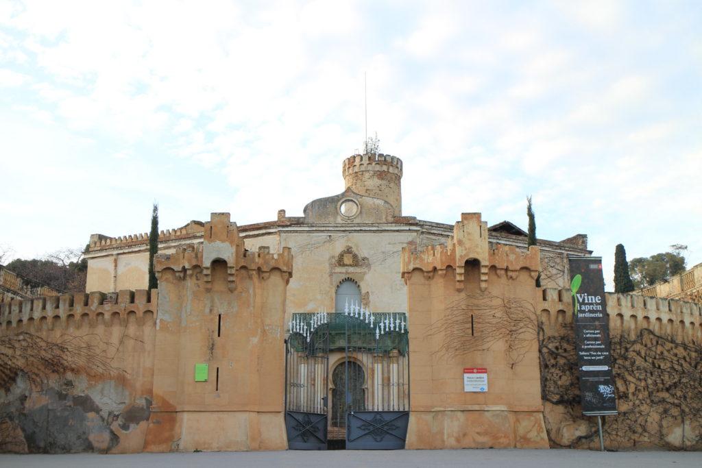 Barcelona Laberinto de Horta 門口