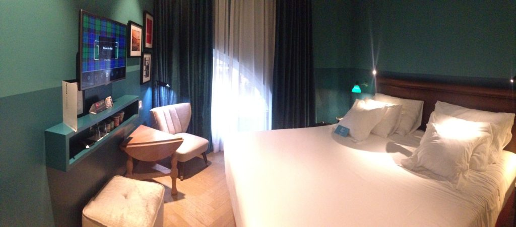 Vincci the mint Madrid room