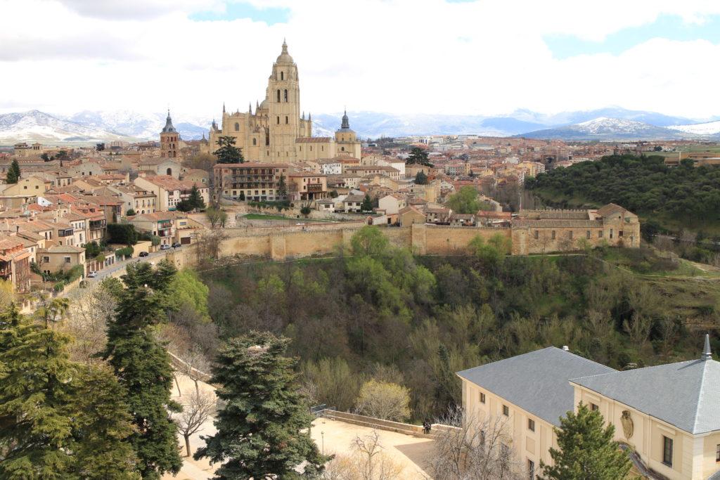 西班牙Segovia alcazár