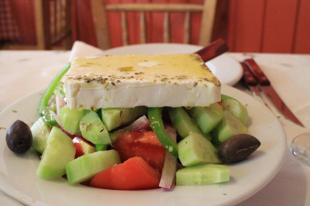 希臘美食:希臘沙拉