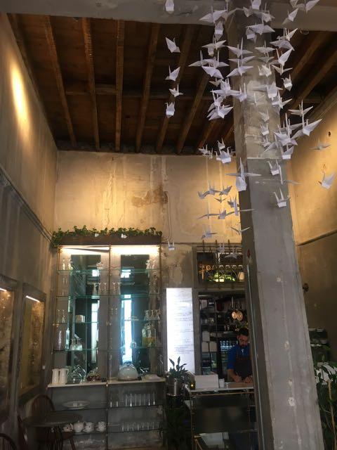 希臘雅典咖啡店推薦:Philos內部裝潢設計