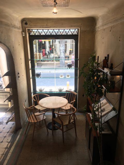 希臘雅典咖啡店推薦:Philos內部一角