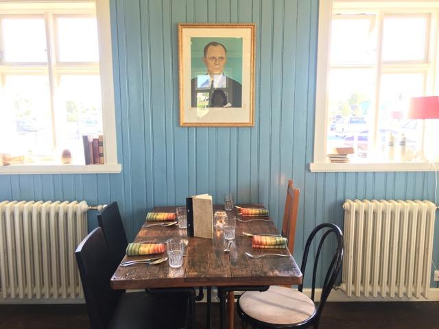 冰島環島自駕行程Day1:Selfoss的Tryggvaskali 餐廳一角