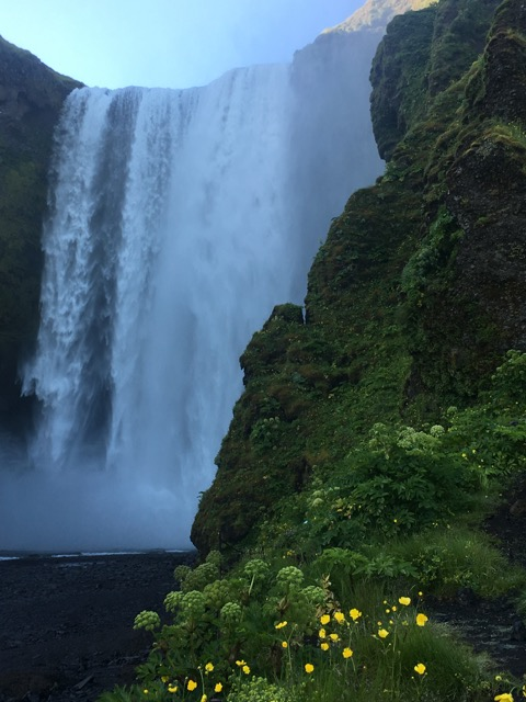 冰島環島自駕行程Day1:Skogafoss瀑布