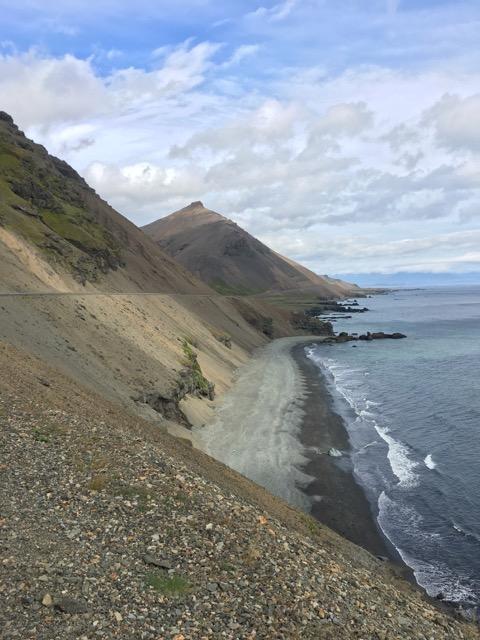 冰島環島自駕環島攻略Day4:東海岸黑沙灘