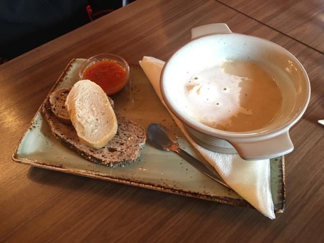 冰島環島自駕環島攻略Day4:東海岸餐廳Cafe Nielson蘑菇濃湯
