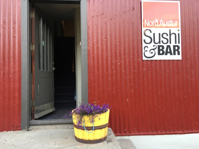 冰島環島自駕環島攻略Day4:東海岸食記Seydisfjordur Nord Austur Sushi & Bar