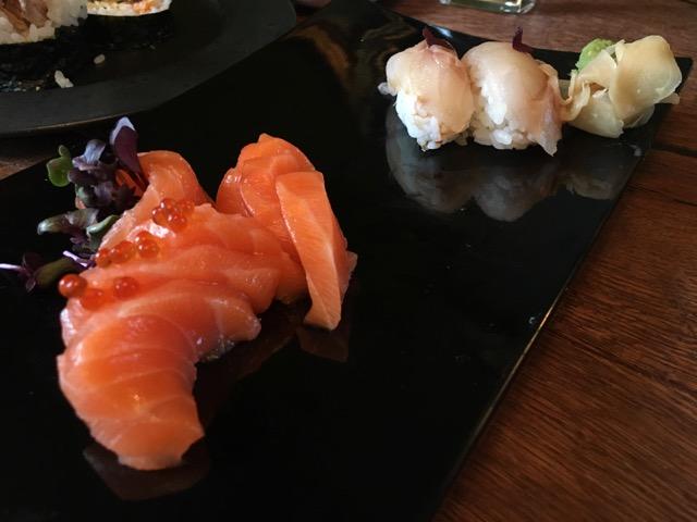 冰島環島自駕環島攻略Day4:東海岸食記Seydisfjordur Nord Austur Sushi & Bar 生魚片