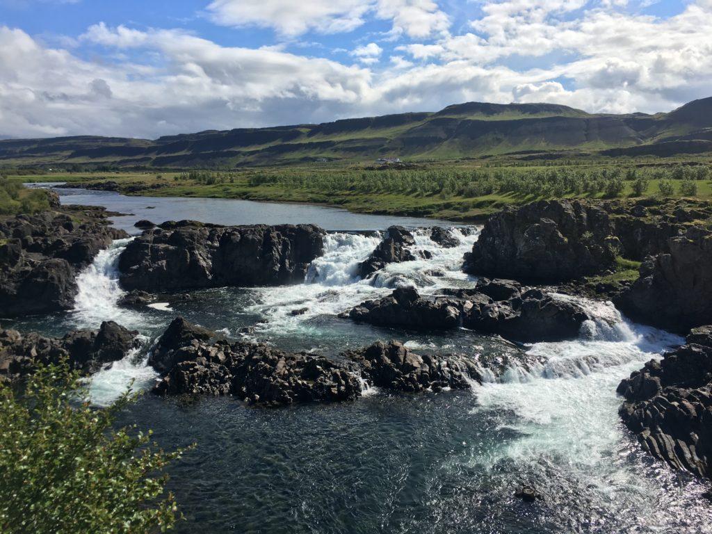 冰島環島自駕環島攻略西部Glanni瀑布&Paradisarlaut池塘