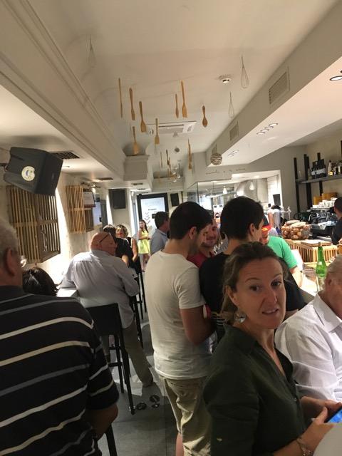 西班牙Pamplona pintxo 餐廳推薦:Baserriberri