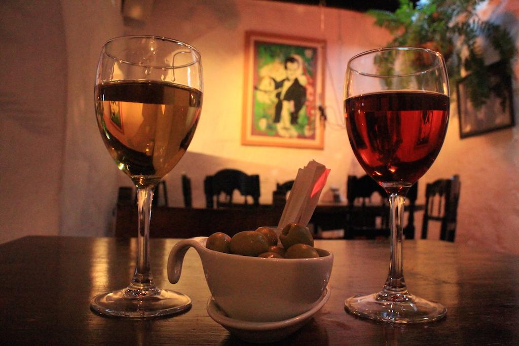 在Lanzarote我們點的酒