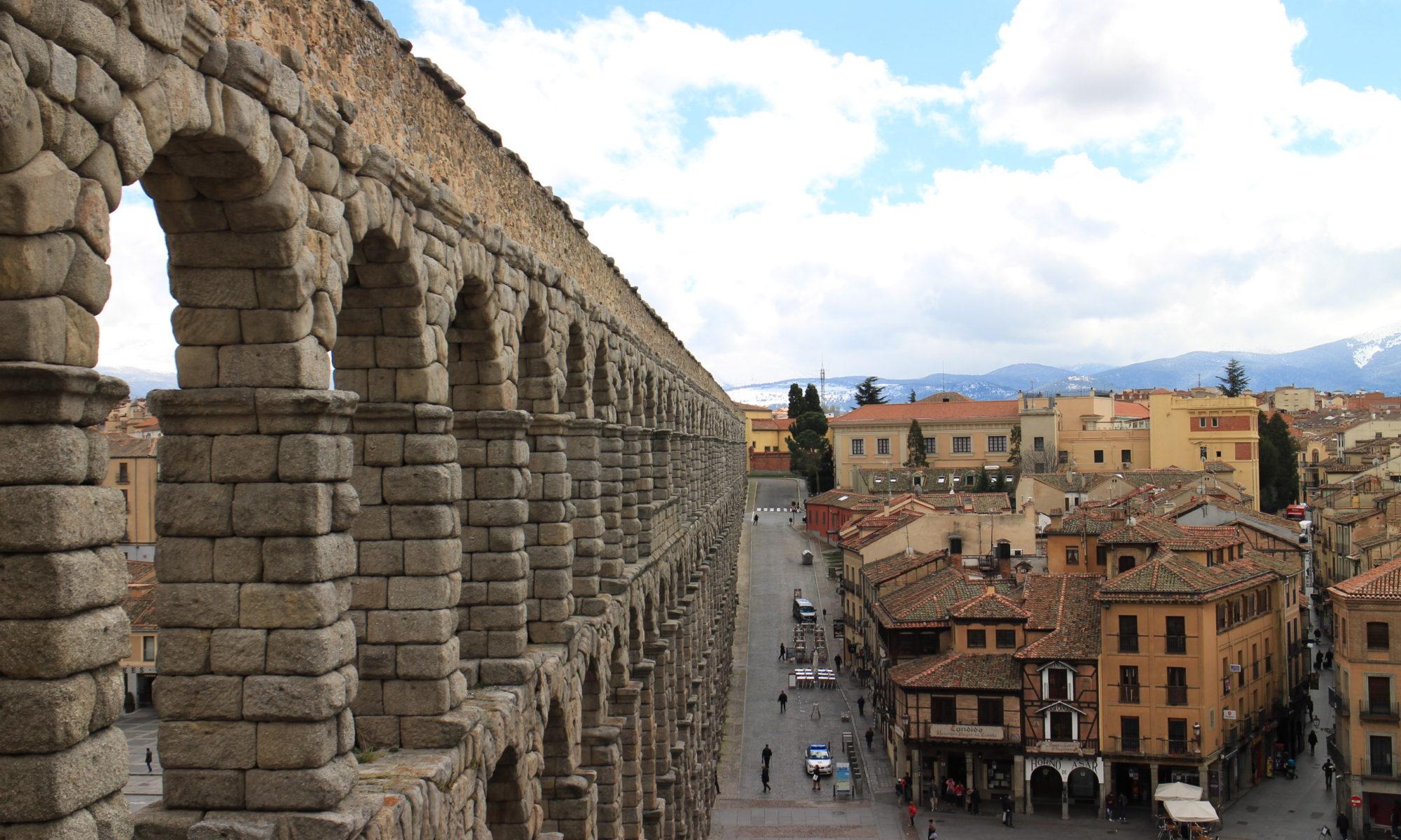 西班牙Segovia古羅馬水道