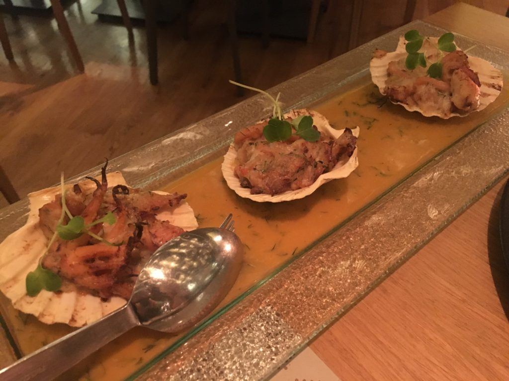 Clochard餐廳Seafood gratin