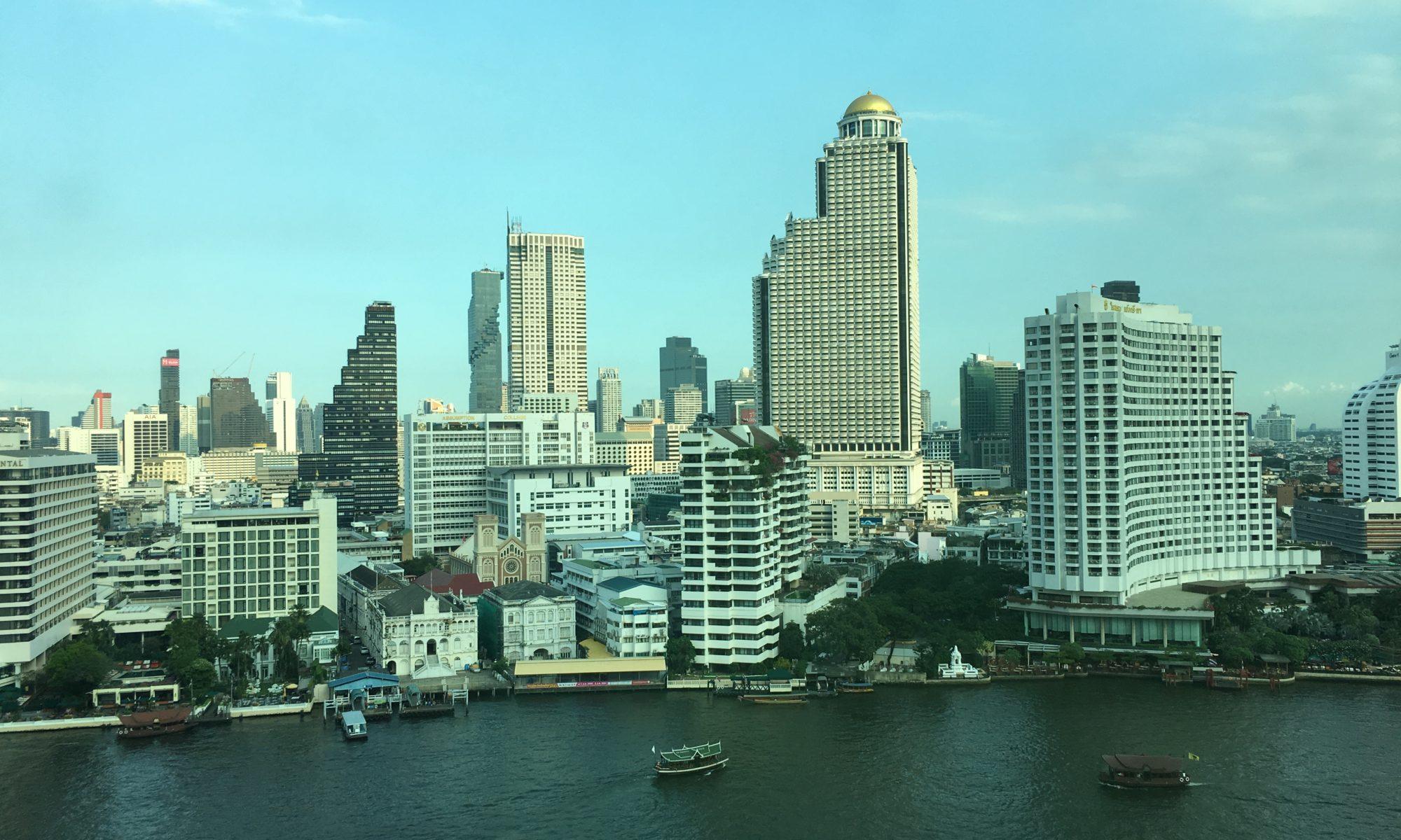 泰國曼谷住宿推薦:人間之上的半島酒店Peninsula Bangkok