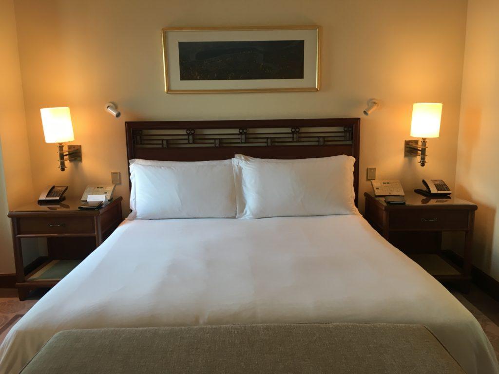 半島酒店Peninsula Bangkok客房床