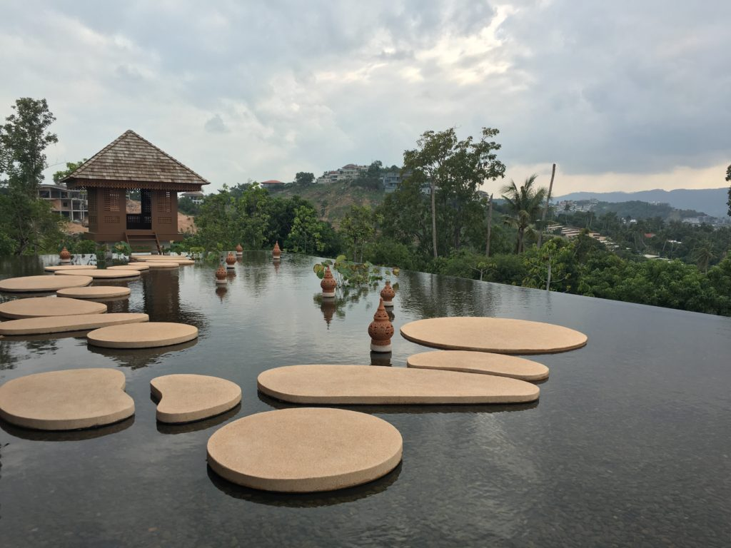 泰國蘇美島住宿|Ritz-Carlton度假村接待處