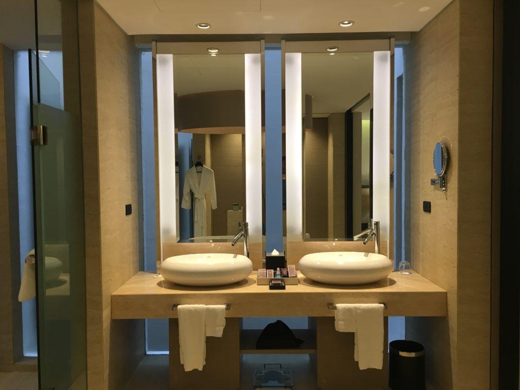 泰國蘇美島住宿|Ritz-Carlton度假村套房浴室