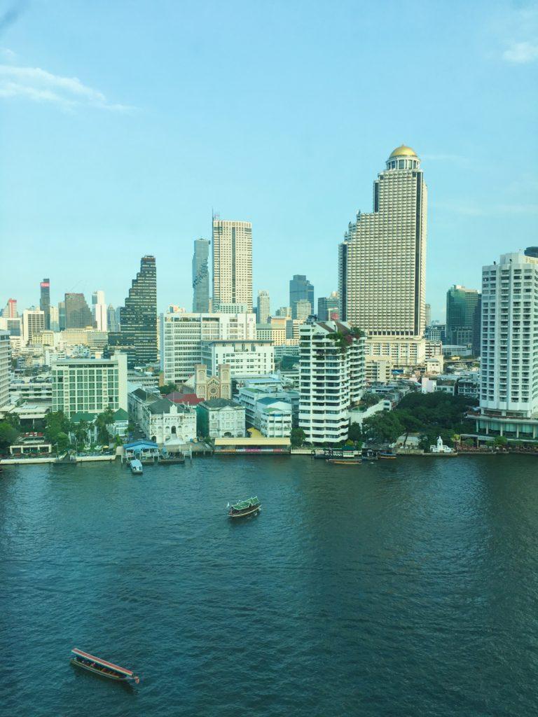 曼谷半島酒店房外風景