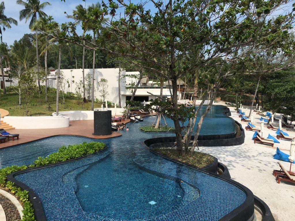 泰國蘇美島住宿|Ritz-Carlton度假村泳池
