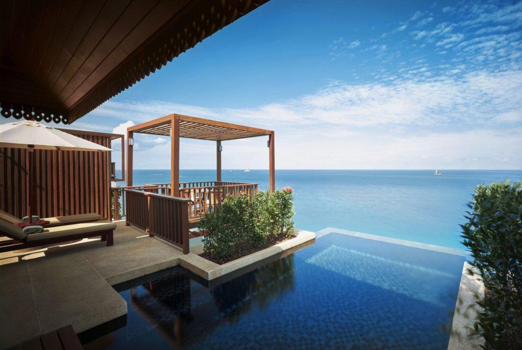 泰國蘇美島住宿|Ritz-Carlton度假村別墅陽台