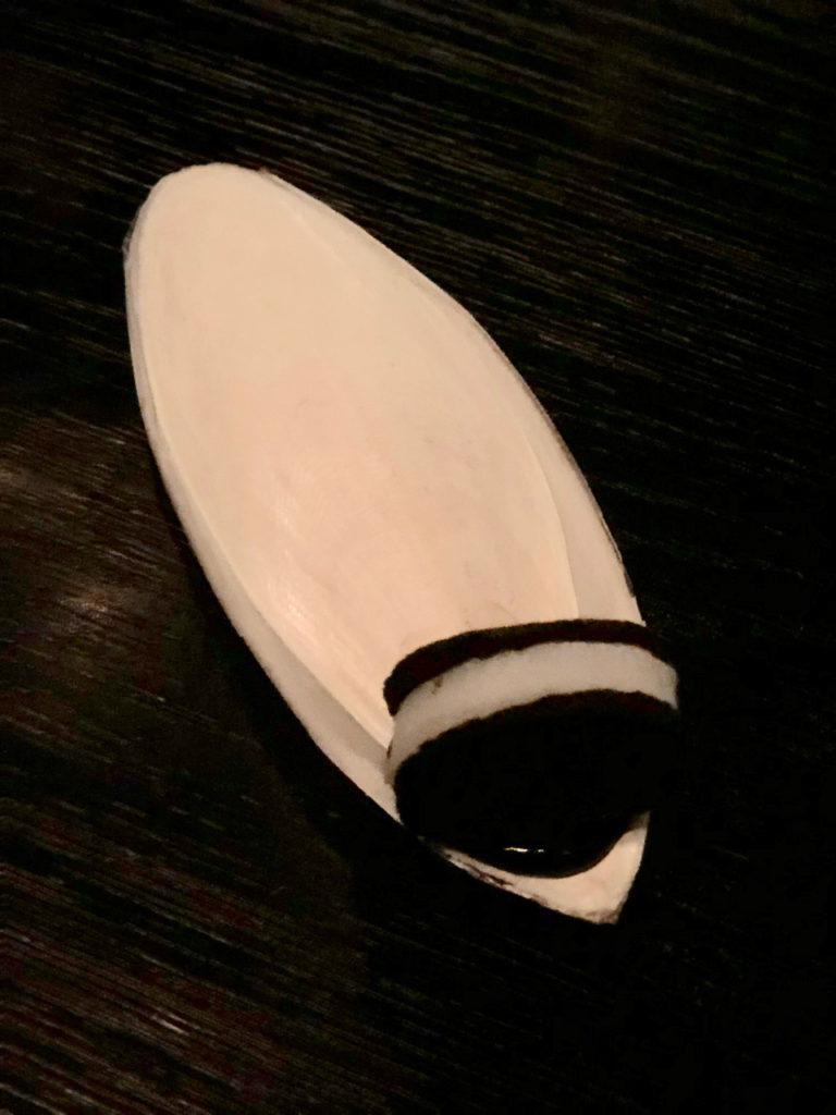 Cuttle fish Oreo 長得像Oreo但實際上是鹹的