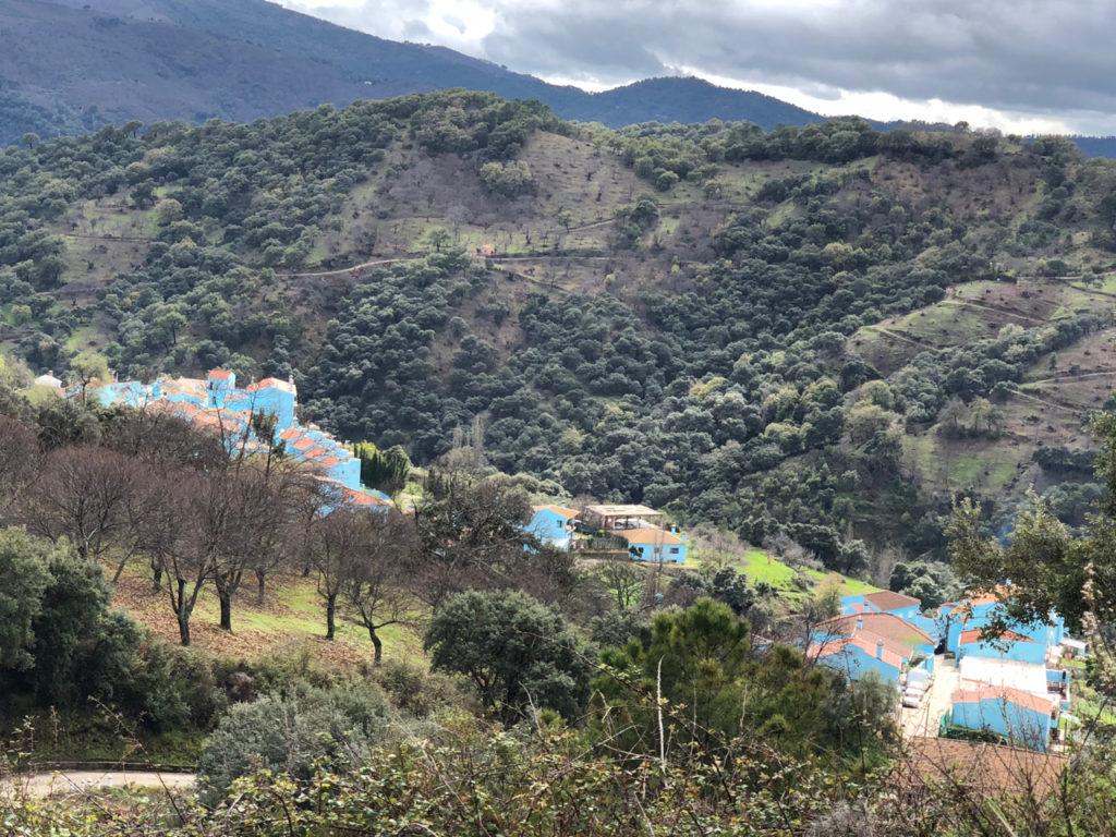 藍色小精靈村Júzcar