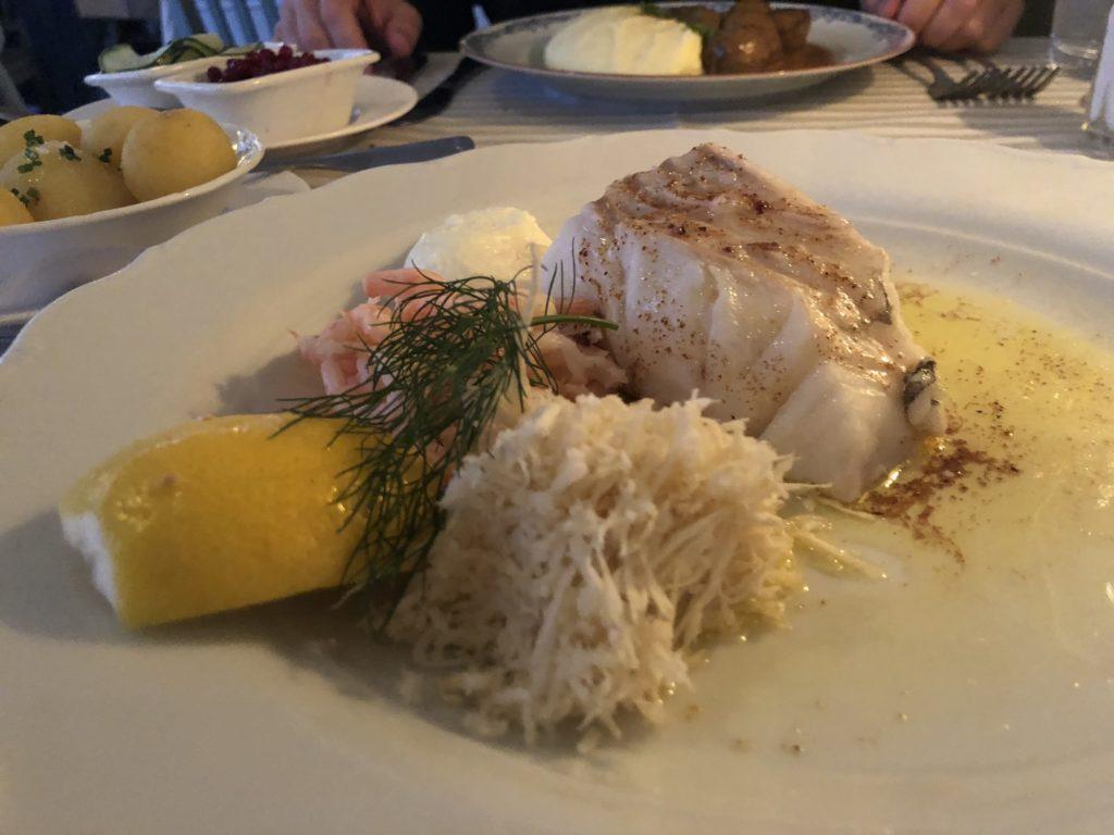 瑞典斯德哥爾摩食記:Wärdshuset Ulla Winbladh AB鱈魚