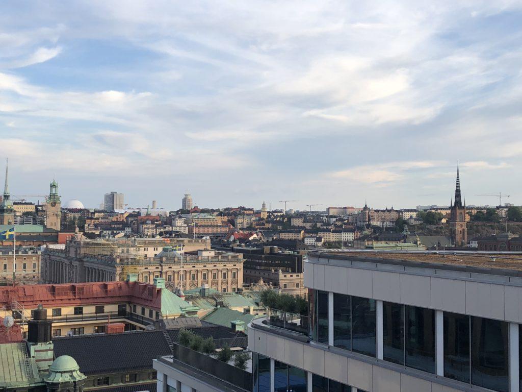 瑞典斯德哥爾摩食記:Tak terrace bar屋頂風景