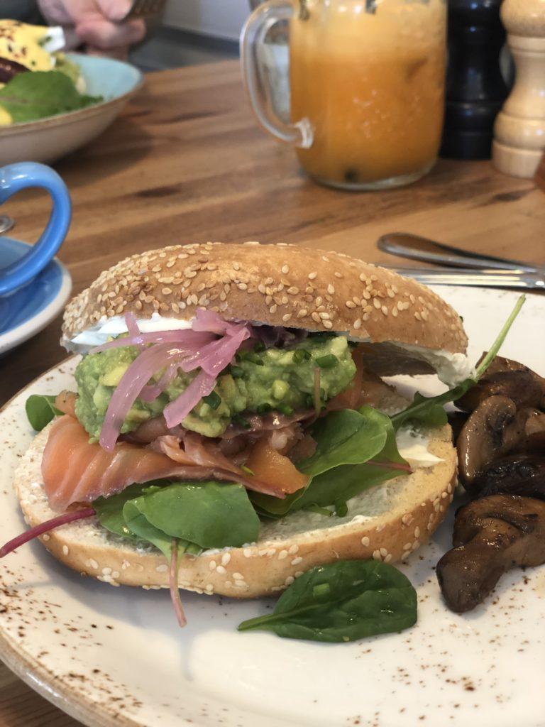 瑞典斯德哥爾摩食記:brunch club鮭魚貝果